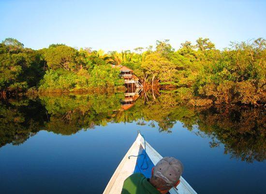 Amazon Canoeing