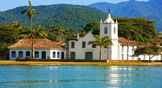 Paraty is a coastal historic town in the state of Rio de Janeiro, Brazil