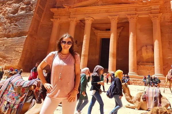 Gabriela in Jordan