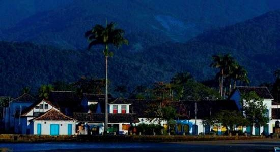 Paraty - a beautiful Brazilian colonial city, considered a National Historical Monument