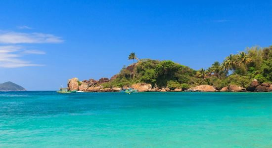 Ilha Grande is an island in the Brazilian state of Rio de Janeiro ringed by beaches, covered by Atlantic forest and crossed by winding trails.