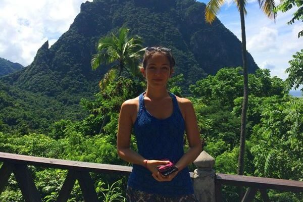 Sabrina in Saint Lucia