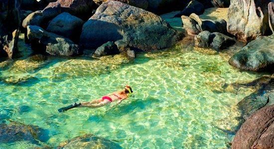 Snorkelling in Masoala