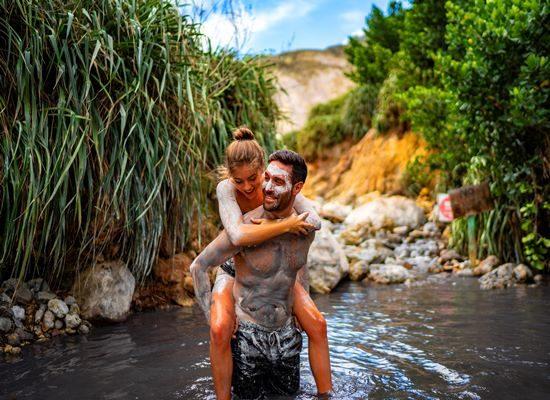 Sulphur Springs in Saint Lucia