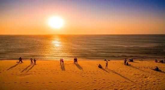 Sunset in Jeri