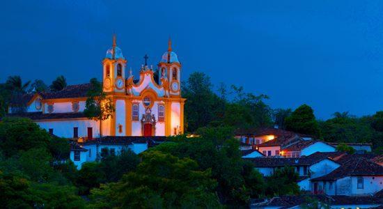 Tiradentes at night